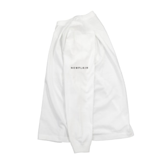 NEWPLAINロゴ(BLACK) Long sleeve T-shirts