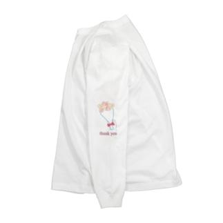 花束 ロングTシャツ Long sleeve T-shirts