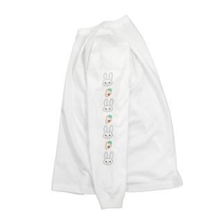 うさぎとにんじん Long sleeve T-shirts