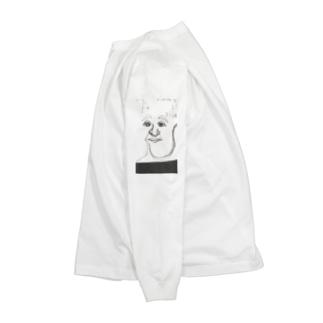 落書きという概念? Long sleeve T-shirts