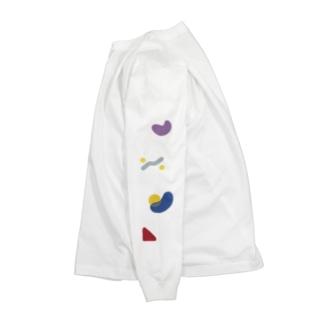 朝型夜型ロンT Long sleeve T-shirts