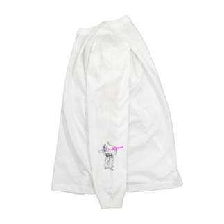 呂布✖️島田看板店 Long sleeve T-shirts