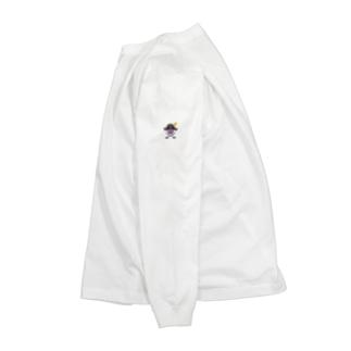 ゴージャス動画オフィシャルの7周年限定スカルロゴ Long Sleeve T-Shirt