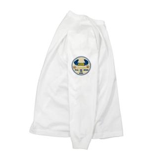 さと商店のパグ印ミルク Long sleeve T-shirts