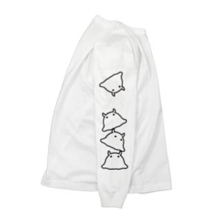 メンダコ Long sleeve T-shirts