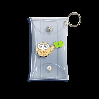 LSC☆SHOPのちえぶくろう Mini Clear Multipurpose Case