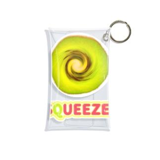 Squeeze! Kiwifruits Mini Clear Multipurpose Case