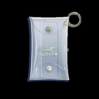 はにわとくらげ。のWANI(color) Mini Clear Multipurpose Case