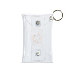 もふこちゃん Mini Clear Multipurpose Case