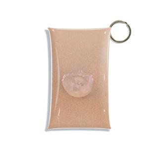 砂浜にクラゲ Mini Clear Multipurpose Case