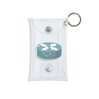 ルーターちゃん Mini Clear Multipurpose Case
