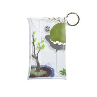 ボタニカル 鉢植えと苔玉 Mini Clear Multipurpose Case