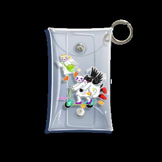 Kifuyuの猫の天使 Mini Clear Multipurpose Case