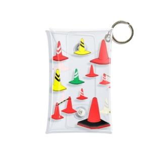 もりもり三角コーン Mini Clear Multipurpose Case