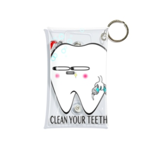 toothくん Mini Clear Multipurpose Case
