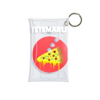 TETEMARUピッツァ Mini Clear Multipurpose Case