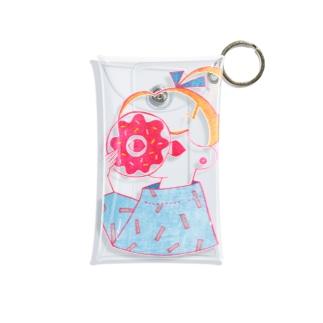 ドーナツ Mini Clear Multipurpose Case