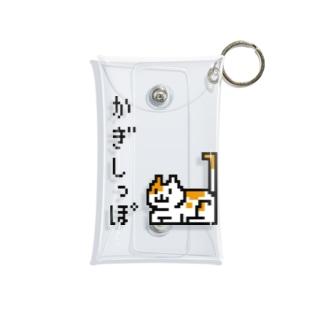 かぎしっぽ Mini Clear Multipurpose Case