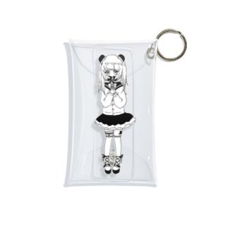 ゆめかわいい女の子 Mini Clear Multipurpose Case