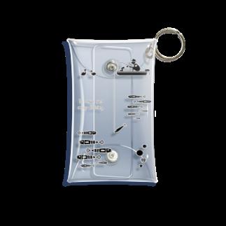 ワカボンドののんびりと釣りを楽しむ Mini Clear Multipurpose Case