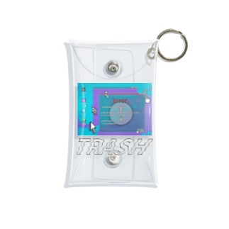 TRASH Mini Clear Multipurpose Case