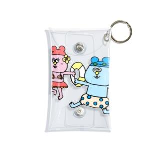 【Yuwiiの店】ゆぅいーのねんたん&ねみこちゃん Mini Clear Multipurpose Case