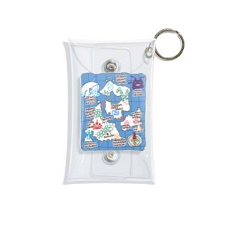 ぼうけんの地図 Mini Clear Multipurpose Case