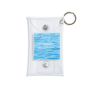 SUMMER vacathion Mini Clear Multipurpose Case