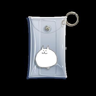 がつのよりネコ(ひとり) Mini Clear Multipurpose Case