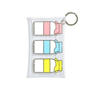 ぎゅうにゅうびん Mini Clear Multipurpose Case