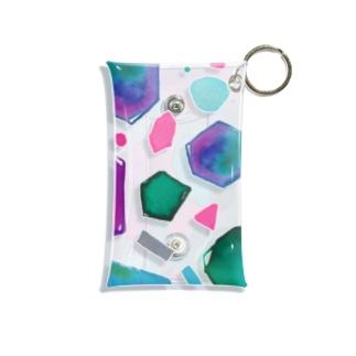 colour crystal Mini Clear Multipurpose Case