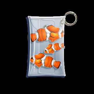 RAD_TireArt のカクレクマノミ Mini Clear Multipurpose Case