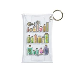 瓶詰め ドット Mini Clear Multipurpose Case