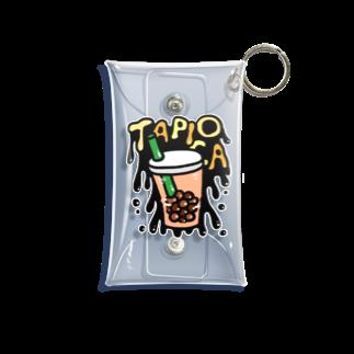 れなしやのCool Tapioca Mini Clear Multipurpose Case