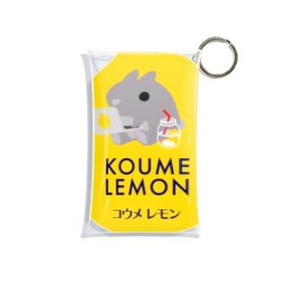 東南アジア食堂 マラッカ (カフェマラッカ)のコウメレモン Mini Clear Multipurpose Case