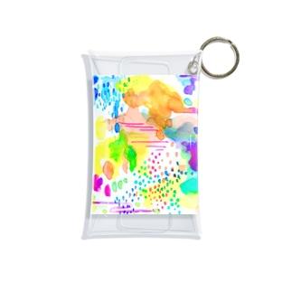 雨上がり Mini Clear Multipurpose Case