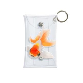 キンギョさん Mini Clear Multipurpose Case