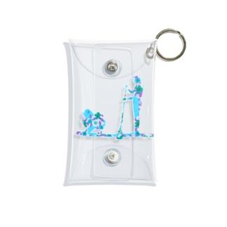 AtelierBoopのSupdog ポメラニアン Mini Clear Multipurpose Case