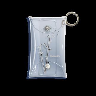 10sのflower_2 Mini Clear Multipurpose Case