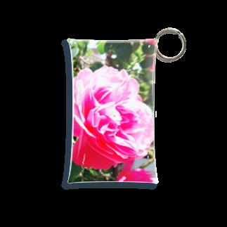 或る by 千~sahasraのpink rose Mini Clear Multipurpose Case