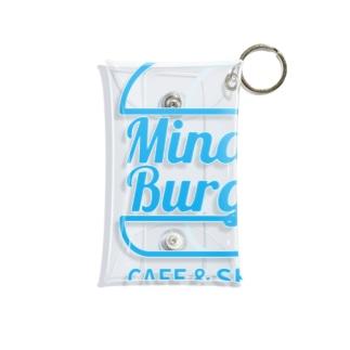 ミナトバーガー_ロゴグッズ(MinatoBurger) Mini Clear Multipurpose Case