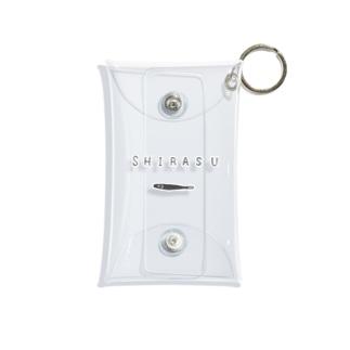 グルメTシャツ「しらす」 Mini Clear Multipurpose Case