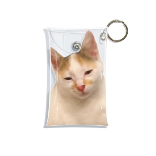 三毛猫 Mini Clear Multipurpose Case