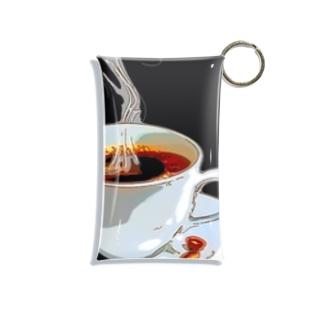コーヒー Mini Clear Multipurpose Case