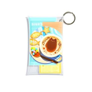 ビンロウとカプチーノ(リーフレット) Mini Clear Multipurpose Case