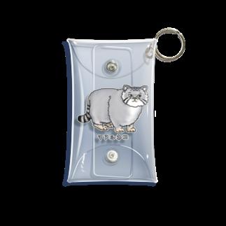すとろべりーガムFactoryのマヌルネコ no.2 Mini Clear Multipurpose Case