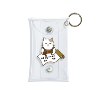 ねこふく屋のデザイナー Mini Clear Multipurpose Case
