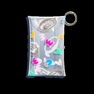 こけしおのまーちゃん Mini Clear Multipurpose Case