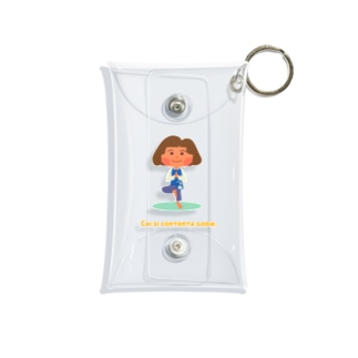 HITOMI's YOGA Mini Clear Multipurpose Case