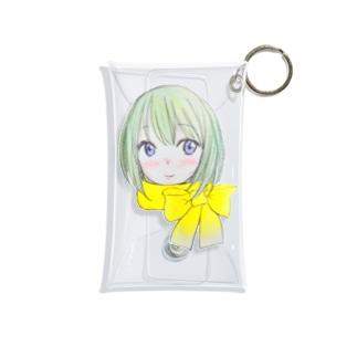 winter girl Mini Clear Multipurpose Case